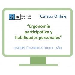 Formación en ergonomía participativa y habilidades personales. 8ª Edición