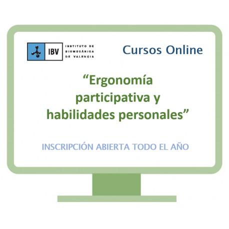 Formación en ergonomía participativa y habilidades personales. Primera edición 2016