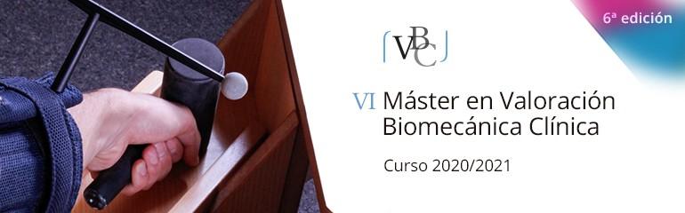 Master en Valoracion Biomecanica Clinica